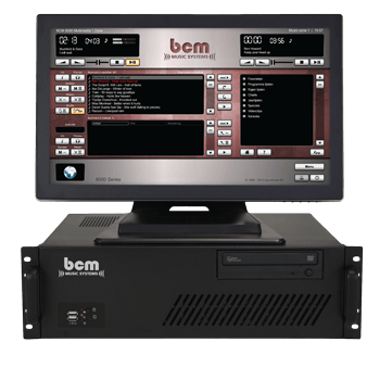 BCM 8000 Multimedia music system